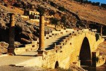 roman bridge over euphrates
