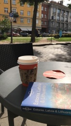 Coffee at Vilnius