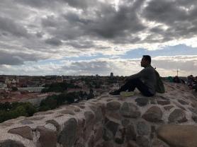 On top of Gediminas Hill