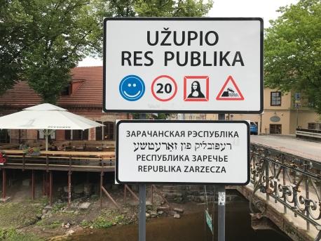 Uzupio Republic